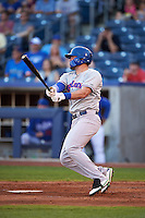 Midland RockHounds outfielder Josh Whitaker (26) at bat during a game against the Tulsa Drillers on June 2, 2015 at Oneok Field in Tulsa, Oklahoma.  Midland defeated Tulsa 6-5.  (Mike Janes/Four Seam Images)