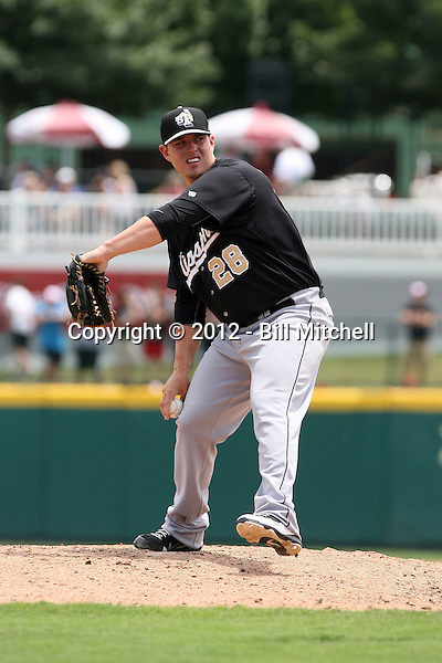 Jeremy McBryde - 2012 San Antonio Missions (Bill Mitchell)