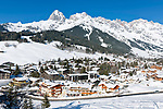 Oesterreich, Salzburger Land, Pinzgau, Maria Alm-Hinterthal: vor dem Steinernen Meer | Austria, Salzburger Land, Pinzgau, Maria Alm-Hinterthal with Steinernes Meer mountains