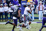 Texas Tech Red Raiders wide receiver Bradley Marquez (4) in action during the game between the Texas Tech Red Raiders and the TCU Horned Frogs at the Amon G. Carter Stadium in Fort Worth, Texas. TCU defeats Texas Tech 82 to 27.