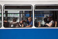 Romania. Iași County. Iași. Men and women communting on a streetcar or tramway. Iași (also referred to as Iasi, Jassy or Iassy) is the largest city in eastern Romania and the seat of Iași County. Located in the Moldavia region, Iași has traditionally been one of the leading centres of Romanian social life. The city was the capital of the Principality of Moldavia from 1564 to 1859, then of the United Principalities from 1859 to 1862, and the capital of Romania from 1916 to 1918. 5.06.15© 2015 Didier Ruef