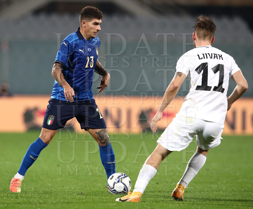 FBL- Friendly  football match Italy vs Estonia at the Artemio Franchi stadium in Florence on November 11, 2020.<br />
