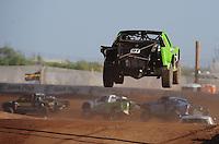 Apr 17, 2011; Surprise, AZ USA; LOORRS driver Nick Tyree (91) during round 4 at Speedworld Off Road Park. Mandatory Credit: Mark J. Rebilas-