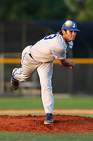 Tampa Jesuit Tigers pitcher Lance McCullers #23 delivers a pitch during a league game against the Spoto Spartans at Spoto High School on March 23, 2012 in Riverview, Florida.  McCullers, a projected first round draft choice in the upcoming 2012 MLB Draft, threw a no-hitter in the game.  (Mike Janes/Four Seam Images)