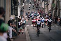 peloton rolling through<br /> <br /> Stage 7: Fougères > Chartres (231km)<br /> <br /> 105th Tour de France 2018<br /> ©kramon