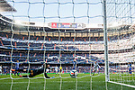 Goalkeeper Fernando Pacheco Flores of Deportivo Alaves fails to save the ball shot by Cristiano Ronaldo of Real Madrid during the La Liga 2017-18 match between Real Madrid and Deportivo Alaves at Santiago Bernabeu Stadium on February 24 2018 in Madrid, Spain. Photo by Diego Souto / Power Sport Images