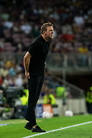 14th September 2021: Nou Camp, Barcelona, Spain: ECL Champions League football, FC Barcelona versus Bayern Munich: Julian Nagelsmann Bayern  Munich coach in action