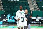 Mean Green Men's Basketball v UAB at Super Pit in Denton on March 6, 2021