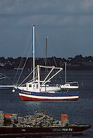 Europe/France/Bretagne/56/Morbihan/Golfe du Morbihan/Env de Lamor-Baden: Bateaux de pêche