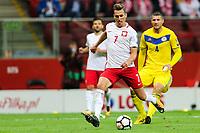 04.09.2017, Warszawa, pilka nozna, kwalifikacje do Mistrzostw Swiata 2018, Polska - Kazachstan, Arkadiusz Milik (POL), Poland - Kazakhstan, World Cup 2018 qualifier, football, fot. Tomasz Jastrzebowski / Foto Olimpik<br /><br />POLAND OUT !!! *** Local Caption *** +++ POL out!! +++<br /> Contact: +49-40-22 63 02 60 , info@pixathlon.de