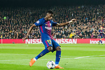 Ousmane Dembele of FC Barcelona in action during the UEFA Champions League 2017-18 Round of 16 (2nd leg) match between FC Barcelona and Chelsea FC at Camp Nou on 14 March 2018 in Barcelona, Spain. Photo by Vicens Gimenez / Power Sport Images