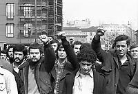 - Milano, funerale di Salvatore Toscano, leader dell'organizzazione Movimento Studentesco (marzo 1976)<br /> <br /> - Milan, funeral of Salvatore Toscano, leader of  leftist organization Student Movement (mars 1976)