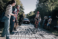 Rui Costa (POR/UAE) up the infamous Muro di Sormano (avg 17%/max 25%)<br /> <br /> Il Lombardia 2017<br /> Bergamo to Como (ITA) 247km