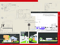 Andre Calderon, NewSchool of Architecture & Design, received Honorable Mention in the Student category of FSDA's ADU Competition 2004. Board 2.
