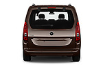 Straight rear view of 2019 Opel Combo-Life Innovation 5 Door Mini Mpv Rear View  stock images