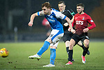 St Johnstone v Kilmarnock…02.12.17…  McDiarmid Park…  SPFL<br />Liam Craig shoots for goal<br />Picture by Graeme Hart. <br />Copyright Perthshire Picture Agency<br />Tel: 01738 623350  Mobile: 07990 594431