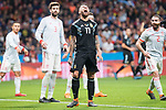 Argentina Nicolas Otamendi during friendly match between Spain and Argentina at Wanda Metropolitano in Madrid , Spain. March 27, 2018. (ALTERPHOTOS/Borja B.Hojas)