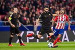 Federico Fazio of AS Roma runs with the ball during the UEFA Champions League 2017-18 match at Wanda Metropolitano on 22 November 2017 in Madrid, Spain. Photo by Diego Gonzalez / Power Sport Images