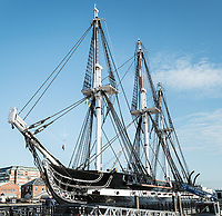 USS Constitution and USS Cassin