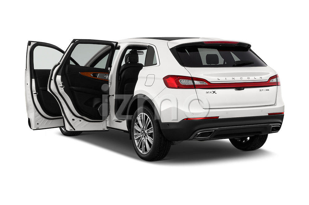 Car images of 2018 Lincoln MKX Black Label 5 Door Suv Doors