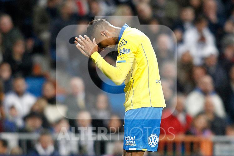 UD Las Palmas' Kevin-Prince Boateng during La Liga match. March 1,2017. (ALTERPHOTOS/Acero)