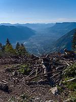Blick von Leiter Alm, Algund bei Meran, Region Südtirol-Bolzano, Italien, Europa<br /> View at Leiter Alm, Lagundo near Merano, Region South Tyrol-Bolzano, Italy, Europe