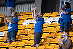St Johnstone v Preston North End…13.07.21  McDiarmid Park<br />Saints fans applaud the players at full time<br />Picture by Graeme Hart.<br />Copyright Perthshire Picture Agency<br />Tel: 01738 623350  Mobile: 07990 594431