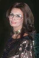 Sophia Loren 1985, Photo By John Barrett/PHOTOlink