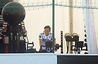Mesut Oezil (Deutschland Germany) ist verletzt und macht Training im Fitnesszelt auf dem Ergometer - 05.06.2018: Training der Deutschen Nationalmannschaft zur WM-Vorbereitung in der Sportzone Rungg in Eppan/Südtirol