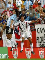 Landon Donovan, Argentina vs. USA, Miami, Fla.