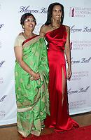 NEW YORK CITY, NY, USA - MARCH 07: Vijaya Lakshmi, Padma Lakshmi at the 6th Annual Blossom Ball Benefiting Endometriosis Foundation Of America held at 583 Park Avenue on March 7, 2014 in New York City, New York, United States. (Photo by Jeffery Duran/Celebrity Monitor)