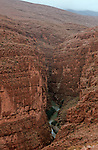 Gorges du Dadès Grand sud marocain. Maroc