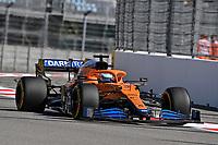 25th September 2021; Sochi, Russia; F1 Grand Prix of Russia  qualifying sessions; 03 RICCIARDO Daniel aus, McLaren MCL35M