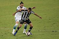 Rio de Janeiro (RJ), 05/06/2021 - BOTAFOGO-CORITIBA - Léo Gamalho (e). do Coritiba e Gilvan (d), do Botafogo. Partida entre Botafogo e Coritiba, válida pela Série B do Campeonato Brasileiro, realizada no Estádio Nilton Santos, neste sábado (05).