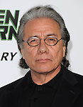 Edward James Olmos attends the Columbia Pictures' Premiere of The Green Hornet held at The Grauman's Chinese Theatre in Hollywood, California on January 10,2011                                                                               © 2010 DVS / Hollywood Press Agency