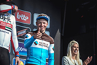Podium:<br /> <br /> 3th place finisher Oliver Naesen (BEL/AG2R La Mondiale)<br /> <br /> 82nd Gent – Wevelgem in Flanders Fields 2019 (1.UWT)<br /> Deinze – Wevelgem: 251,5km<br /> ©kramon