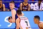 Liga ACB-ENDESA 2020/2021. Game: 26.<br /> FC Barcelona vs Casademont Zaragoza: 107-88.<br /> Rolands Smits vs Jonathan Barreiro.
