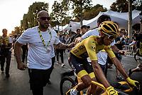 Egan Bernal (COL/Ineos) wins the 2019 Tour de France<br /> <br /> Stage 21: Rambouillet to Paris (128km)<br /> 106th Tour de France 2019 (2.UWT)<br /> <br /> ©kramon