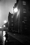 Brick Lane and junction Sheba Street, Whitechapel East London 1976.