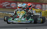 Circuito Internazionale d'Abruzzo, Ortona, Italy, German racing driver Sophia Flörsch during her junior karting career.