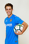 Getafe CF's Tanis during the session of the official photos for the 2017/2018 season. September 19,2017. (ALTERPHOTOS/Acero)