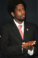 DC United midfielder Clyde Simms.   At the 6th Annual DC United Awards Presentation ,at the Atlas Performing Arts Center in Washington DC ,Wednesday October 27, 2009.