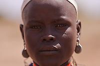Erbore beautiful girl portrait Ethiiopia