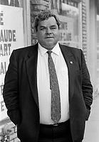 Jean-Claude Malepart<br /> , Octobre 1988<br /> <br /> <br /> PHOTO :   Agence Quebec Presse