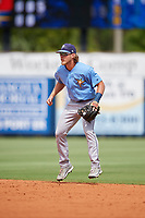 Tampa Bay Rays Taylor Walls (9) during a Florida Instructional League game against the Baltimore Orioles on October 1, 2018 at the Charlotte Sports Park in Port Charlotte, Florida.  (Mike Janes/Four Seam Images)