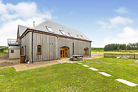 BNPS.co.uk (01202 558833)<br /> Pic: PurpleBricks/BNPS<br /> <br /> Pictured: The eco-home.<br /> <br /> A luxury ten-bedroom eco-home has gone on sale for offers in excess of £850,000 - the same price as a one-bedroom flat in Chelsea.<br /> <br /> The new owner will buy the chance to become an eco-laird, as the property can be run entirely off-grid and includes four lochs and 38 acres of land which could potentially be re-wilded.<br /> <br /> Leadburn Manor at West Linton is just 12 miles south of Edinburgh in Scotland, but looks out over open countryside.