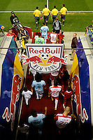 Harrison, NJ - Thursday Sept. 15, 2016: Alianza FC, New York Red Bulls prior to a CONCACAF Champions League match between the New York Red Bulls and Alianza FC at Red Bull Arena.
