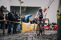 Nikkie Brammeier (GBR)<br /> <br /> Superprestige cyclocross Hoogstraten 2019 (BEL)<br /> Women's Race<br /> <br /> ©kramon