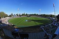 20th December 2020; Hamilton, New Zealand;  General view of Seddon Park, New Zealand Black Caps versus Pakistan, International Twenty20 Cricket. Seddon Park, Hamilton, New Zealand.