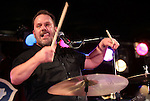"""New York, January 27, 2012: Lead Singer / Drummer Fred LeBlanc of Cowboy Mouth performs """"BB King's Blues Club and Grill"""" On January 27, 2012 in New York City."""
